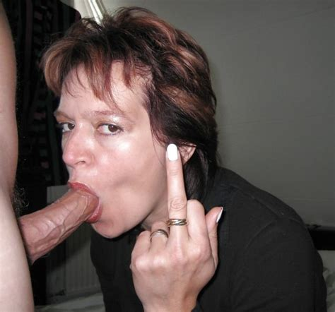 Mature Women Giving A Blowjob With An Attitude Blowjobs