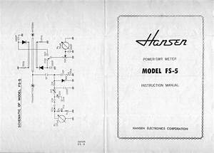 Hansen Fs5e Swr Powermeter