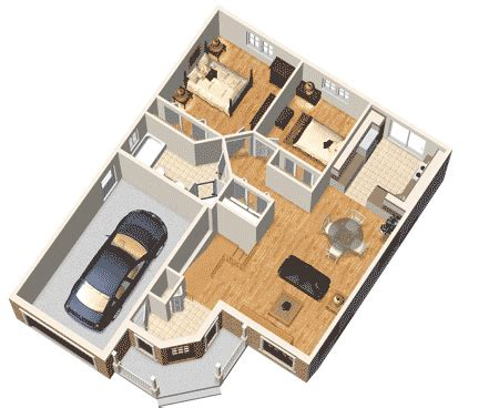 simple  story home plan pm architectural