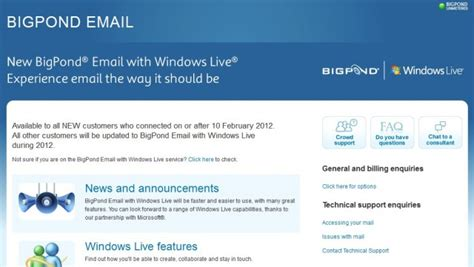 Telstra Ditches Email Service, Moves To Windows Live