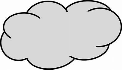 Cloud Clipart Grey Awan Gambar Vektor Pdf