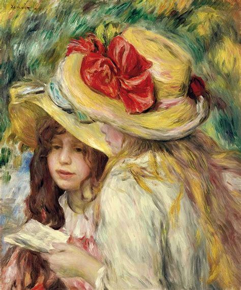 Reading And Art Pierre Auguste Renoir 1