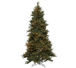 bethlehem lights 9 frasier fir christmas tree w instant power qvc com