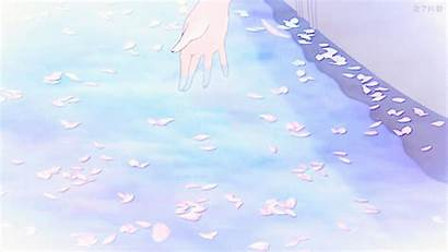 Aesthetic Pastel Anime Pink Pond