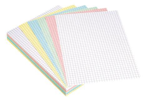bureau informatique blanc fiche bristol a5 couleurs assorties quadrillé 5 x 5
