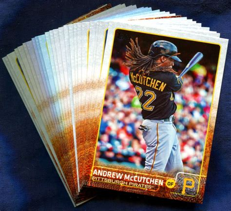 Shop for mlb trading cards, autographed cards, and more at mlbshop.com. 2015 Topps Pittsburgh Pirates Baseball Cards Team Set