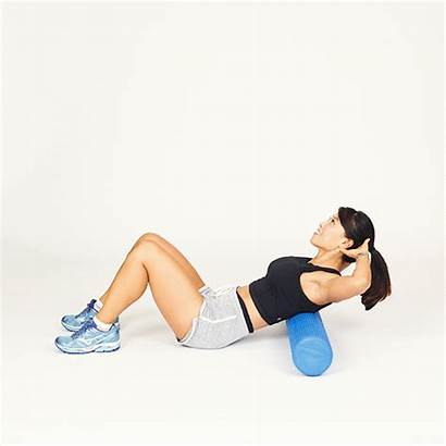 Foam Rolling Thoracic Stiff Extensions Spine Upper