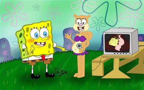 Sandy X Spongebob On Sandy-cheeks-fans