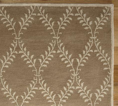 pottery barn handmade persian lattice area rug  rugs carpets