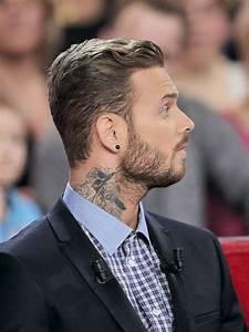 Tatouage Cou Homme : matt pokora dit adieu son tatouage au cou et a pique ~ Nature-et-papiers.com Idées de Décoration