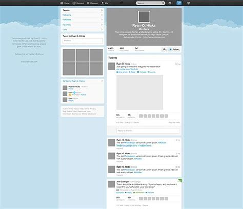 twitter graphic template twitter template free psd graphic freebies psd ai