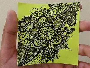 Mehndi inspired doodle.. #Flower #Art #doodling | My ...