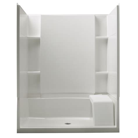 bathroom shower units lowes  luxurious style