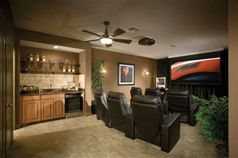 arizona kitchen cabinets build out a bar from a flat wall in the media room 1345