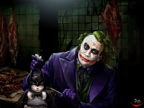 The Joker And A Rabbit By Jiangming On Deviantart