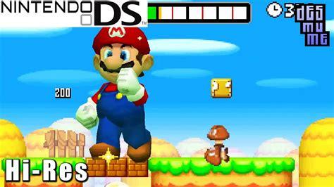 New Super Mario Bros Nintendo Ds Gameplay High