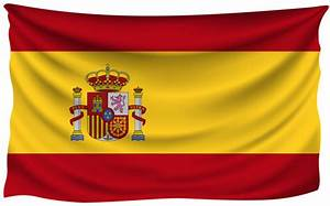 Spain Wrinkled Flag | Gallery Yopriceville - High-Quality ...