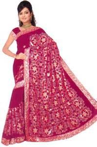 Maroon Bollywood Sequin Saree Sari Belly dance Fabric ROBE KAFTAN Wedding D