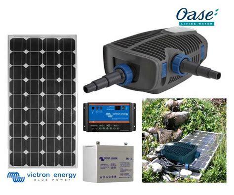 pompe solaire pour bassin de jardin pompe solaire bassin