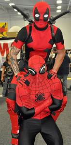 C'mon Spidey.. SMILE~! Deadpool and Spiderman Photo by ...  Spiderman