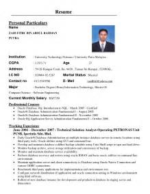 free resume search for employers in malaysia resume format resume cover letter sle malaysia