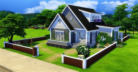 photo cuisine exterieure jardin sims 4 maison construction build house