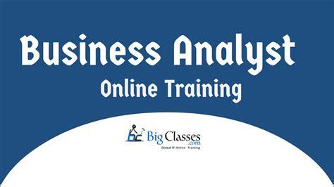 business analyst training tutorial business analyst