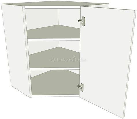 kitchen diagonal corner wall unit flat pack