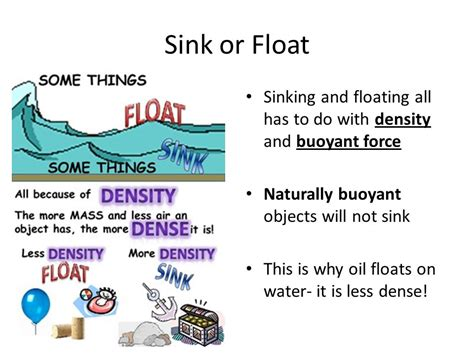 why do things sink or float why do objects sink or float sinks ideas