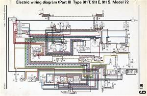 Wiring Diagram 1970 Porsche 911