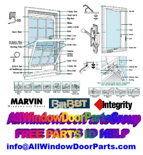 marvin doors  windows marvin integrity parts  replacement products marvin