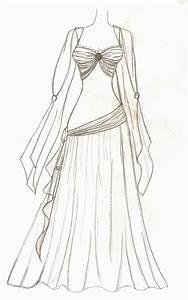 Goddess Dress by Upon-a-RemStar on DeviantArt