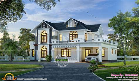 Wonderful house design - Kerala home design and floor plans