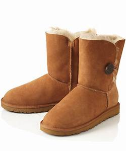 Ugg Boots : ugg chestnut bailey button sheepskin boots in brown lyst ~ Eleganceandgraceweddings.com Haus und Dekorationen