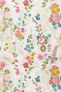 Papier Peint Fleuri Vintage : megara patterns papier peint fleuri papier peint floral en papier peint ~ Melissatoandfro.com Idées de Décoration