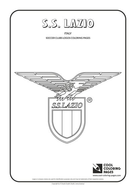 cool coloring pages ss lazio logo coloring page cool coloring pages  educational