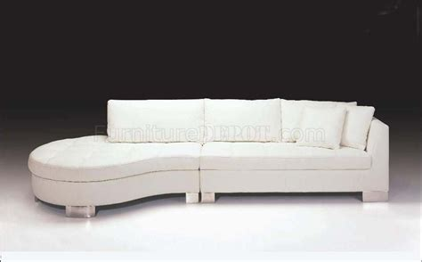 contemporary italian leather sectional sofas white full italian leather contemporary sectional sofa f48l
