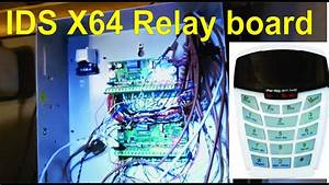 How To Connect A Relay Board To An Ids X64 Expander Module