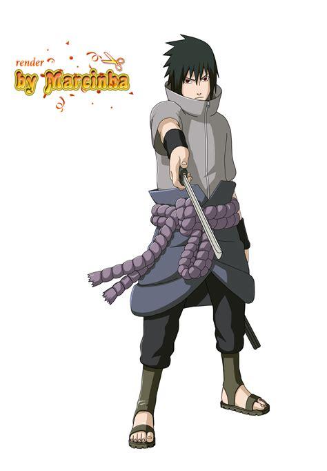 render sasuke  marcinha  deviantart