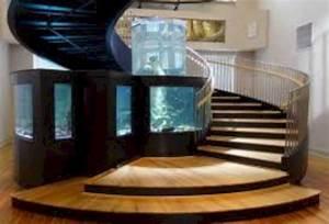 47 The Best Home Stairs Design Ideas With Aquarium