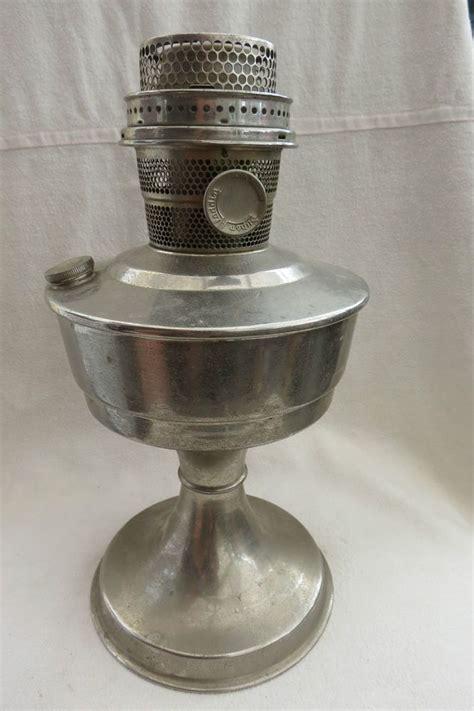 vintage super aladdin oil lamp base and burner amanda