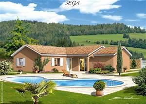 Maison Plain Pied En L : maison plain pied plan plain pied maison plein pied ~ Melissatoandfro.com Idées de Décoration