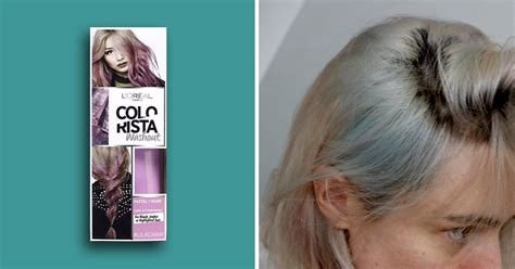 L'oreal Colorista Wash-out Dye Left My Hair Green For