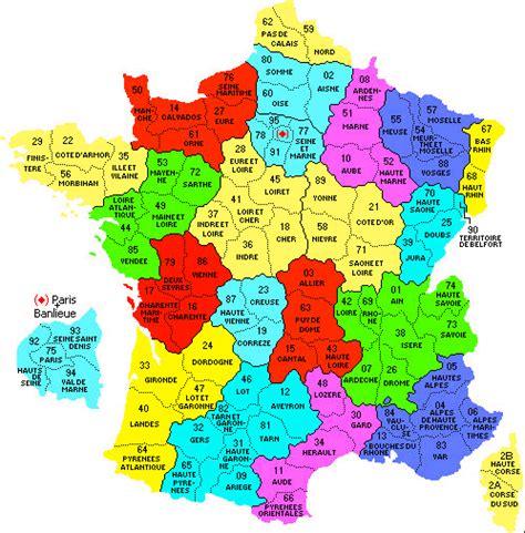 Carte De Avec Régions Et Départements à Imprimer by Carte De La Avec Les R 195 169 Gion Et Les D 195 169 Partement