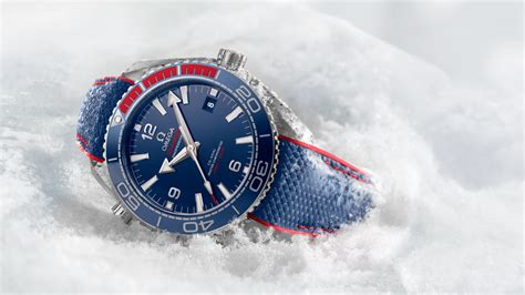 Nmax 2018 Limited Edition by Omega Seamaster Planet 600m Pyeongchang 2018 Limited