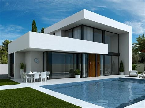 here for sale we 3 bedroom modern villas in laguna costa blanca spain these luxury