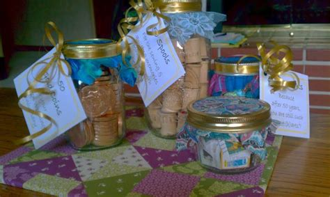 gifts    jars    wedding anniversary party