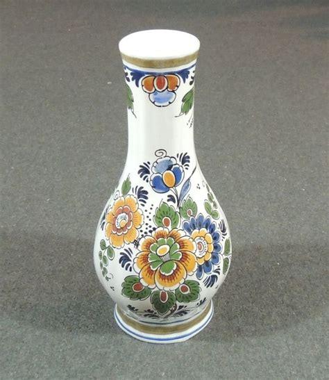 delft polychroom polychrome holland handwerk handmade vase