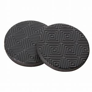 Shop softtouch 16 pack 1 in round rubber gripper pads at for Furniture leg pads lowes