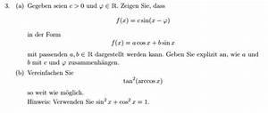 Arccos Berechnen : sinus bungsbeispiel zu elementaren funktionen f x c sin x p mathelounge ~ Themetempest.com Abrechnung